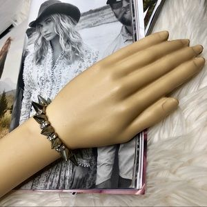 Urban Outfitters Silver Spike Bracelet